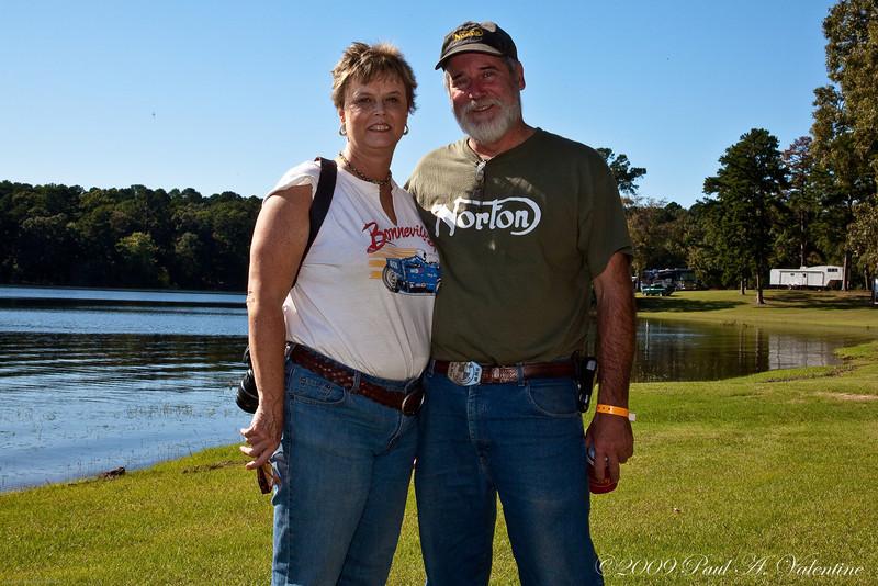 Bobbi and Jerry Bradford, Lake O' the Pines 2009