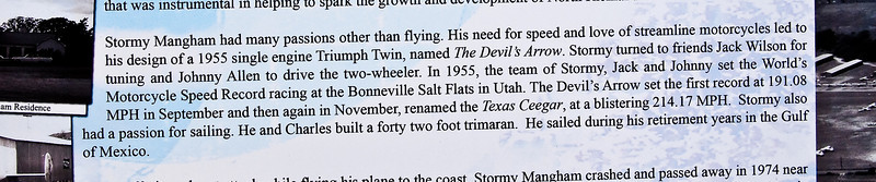 Jack Wilson is noted in this paragraph as 'Tuner' on the Streamliner. Johnny Allen as Driver.<br /> Stormy Plaza 03-13-10
