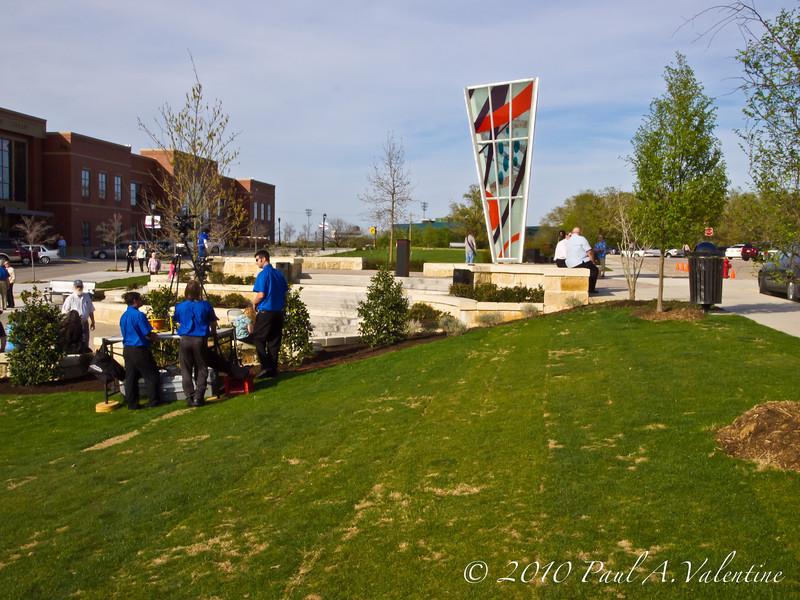Stormy Plaza Dedication 03-30-10