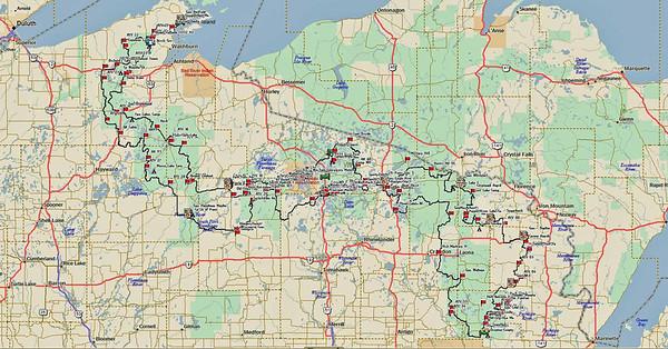Northern Wisconsin Adventure Trail