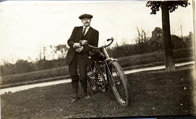 I Amerika med ny motorsykkel.