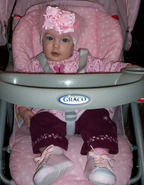 Mikayla - Amy Racca's daughter. 5mo. Jan.8, 2007
