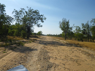 The road to Pormpuraaw