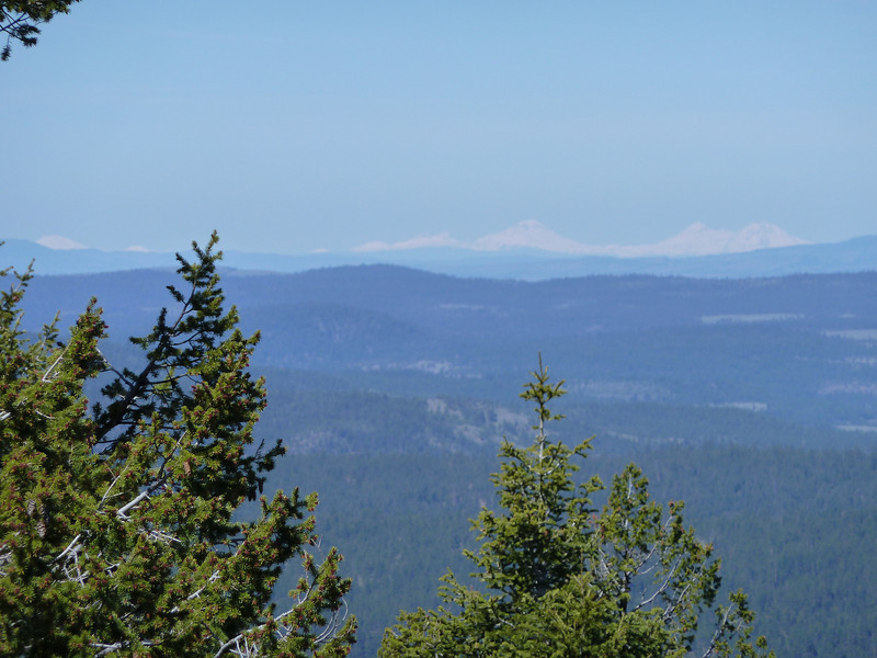 3 Sisters from Flagtail Lookout