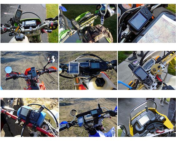 "<font size=""+2"">So, there are twelve of us..  Of those twelve bikes, nine of them had something in common - can you guess what it is from this contact sheet?<br> <font size=""+2"">Nearly all of us had a GPS attached by some means to our rigs."