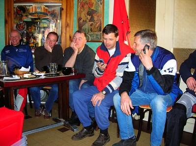 Ton, Fred, Pieter, Arthur en Klaas
