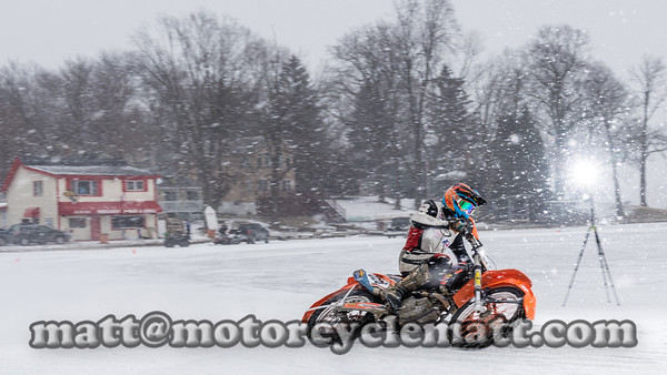 Okauchee Ice Riding 2-14-16