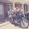 Bill Ballentine and myself loading up our R60/2s along the Outer Banks of NC. Circa 1974.