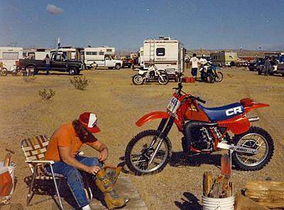 Monte  ... Barstow to Vegas 1984