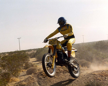 Desert racing in the 80's ... see I was skinny once-apone-a-time
