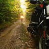 Big Woods Dual Sport motorcycle event<br /> Wabeno, WI
