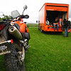KTM also had a 990 Adventure to ride