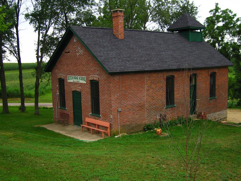 Historical Dutch Ridge School<br /> nearest major town (population 423) <br /> is Eastman, Crawford County, WI