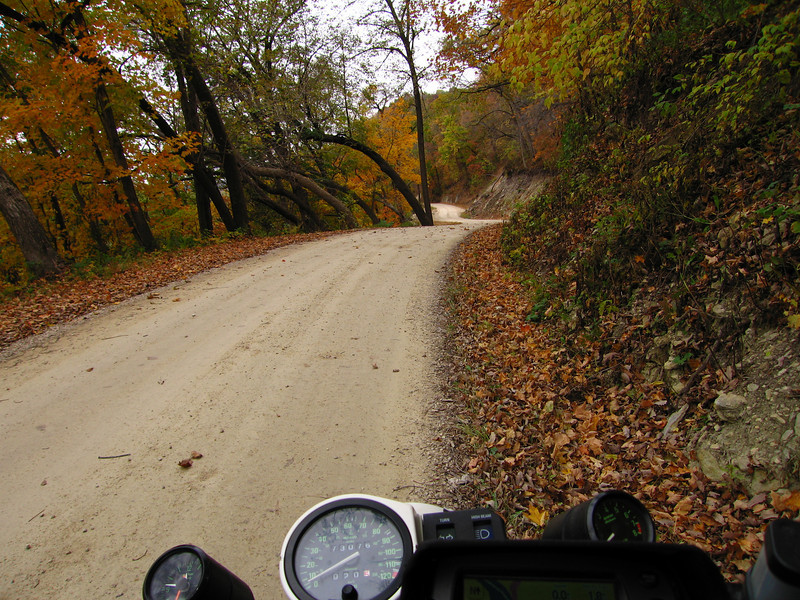 Dugway Road in Grant County Wisconsin