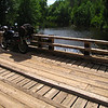 Stockfarm Bridge located on the banks of the Chippewa River about 11 miles southwest of Glidden. Nice NF campground nearby