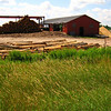 Amish Lumber Operation near Nielsville