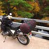 We stopped at Rock Dam for Sunday morning Breakfast and much needed coffee. Fall 2008 Trans Wisconsin Adventure Trail