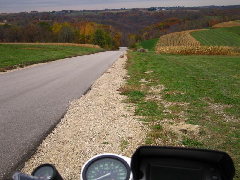 Blind Hill southwest of Prairie Du Chien, Wisconsin