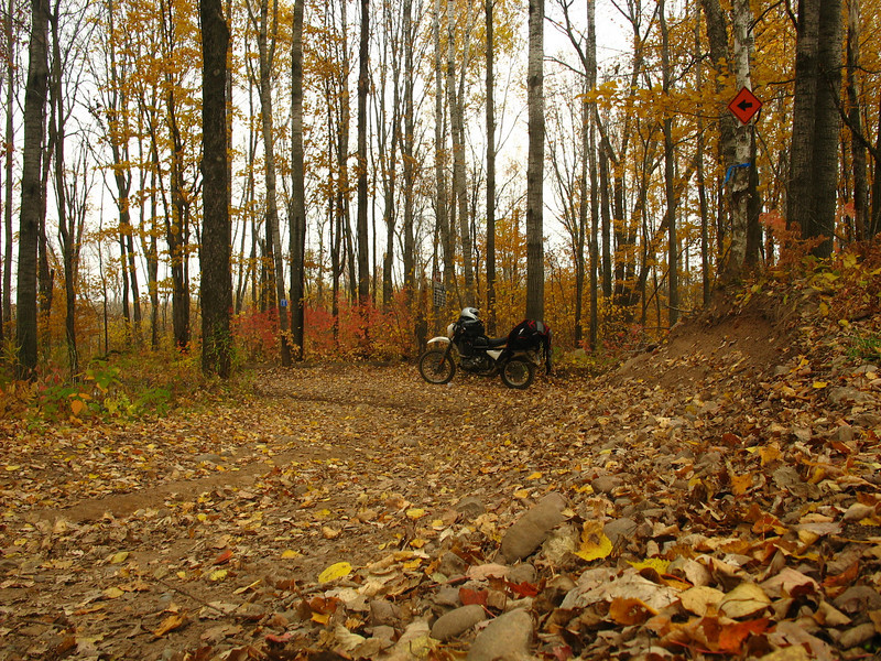 Fall 2008 Trans Wisconsin Adventure Trail