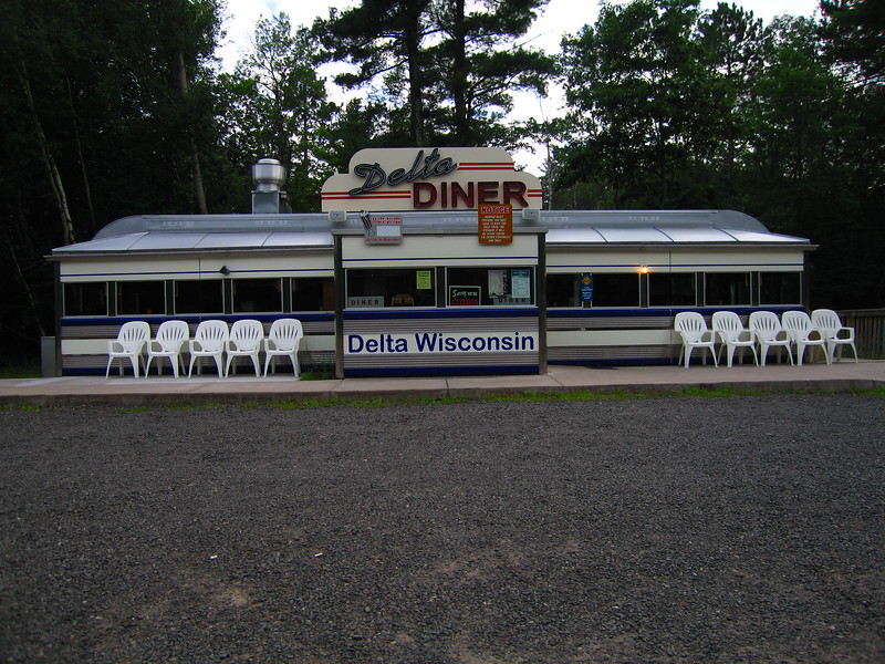 "Delta Diner<br /> <br /> <a href=""http://www.deltadiner.com/history.html"">http://www.deltadiner.com/history.html</a><br /> <br /> <br /> The Diner is at Delta Wisconsin, which is about 30 miles southwest of Ashland. The hours of operation are 8AM to 3 PM. The Twt rides goes right by there. Delta has no gas. Here is their website: <a href=""http://www.deltadiner.com/history.html"">http://www.deltadiner.com/history.html</a>"