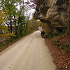 """""""Miller Time"""" at the overhang on Dugway Road in Grant County Wisconsin"""