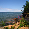 Viewing east, Point Detour at Lake Superior. This is as far north as you can go in Wisconsin<br /> <br /> zzzzzzzzzzzzzzzzzzzz