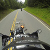Riding up Hurricane Ridge Road. GoPro Image.