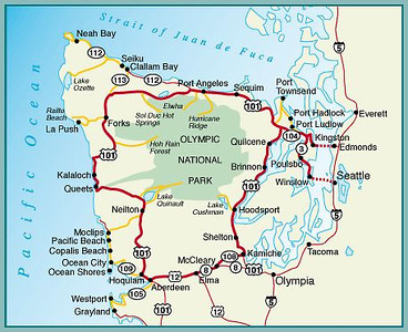 Olympic Peninsula Loop 2013
