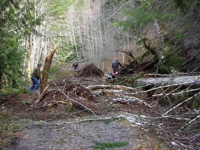 Landslide on the 2630 Rd.