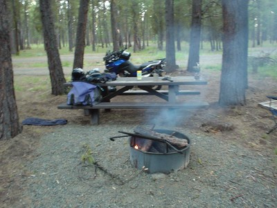 Joaquin Miller Campground Between Burns and Silvies