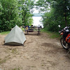 Brent Campground at Algonquin Provincial Park