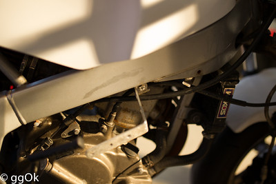 that's the right side fairing mount bracket.
