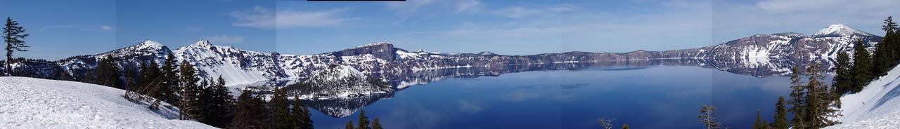 Crater Lake Panorama Hack