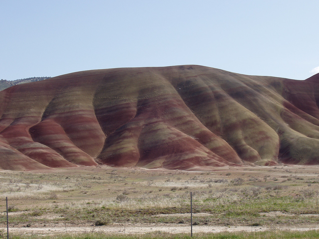 Painted Hills in the John Day area of Eastern Oregon