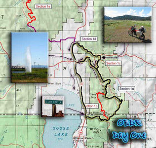 """I labeled this """"day one"""", but really, it was just an afternoon ride that totalled just over four hours, so maybe this is better described as day 0.5 or something like that...  Certainly I could have made this time up on """"day three"""" where I ended up in John Day around 2pm..  Guess I'm still reaching for some sort of """"he man"""" status for doing this thing sow quickly from end to end..  Such ego.."""