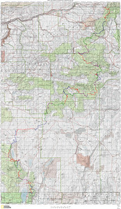 July 1st, 2006 - Day One This is an over view of the route I followed.  The official distance is stated at 750 miles, but I think It's much more than that.. My breakdown is like this: 61 miles from CA to Lakeview 252 miles from Lakeview to Highway 20 161 miles from Highway 20 to Seneca 212 miles from Seneca to Granite 267 miles from Granite to WA border = 952 actual route miles This doesn't include things like the 40 mile detour  for gas and lodging at John Day or again at La Grande, or the 25 miles at the start and end you have to ride to get to or from a shower - that adds another 130 miles, for a grand total of 1,082 miles end to end..  That's a far cry from the officially stated 750 miles!  Did I mention the 400 (!!!) miles it took to get to Lakeview or the 256 miles it took me to get home from Walla Walla?  My butt hurt and my hands were numb when I finally got home!  Total GPS recoded distance?  1,719 miles in 7 days.