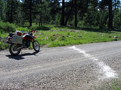 While riding along the route, I noticed that I was traveling through some sort of event, but the nature of it eluded me for a bit...