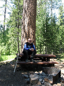 Lots of nice picnic and camping spots in the mountains East of Lakeview - I'd like to go back and explore some more sometime...