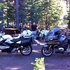 Happy hour at Mazama Campground