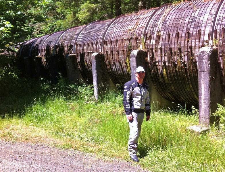Aqueduct at Toketee Falls, OR