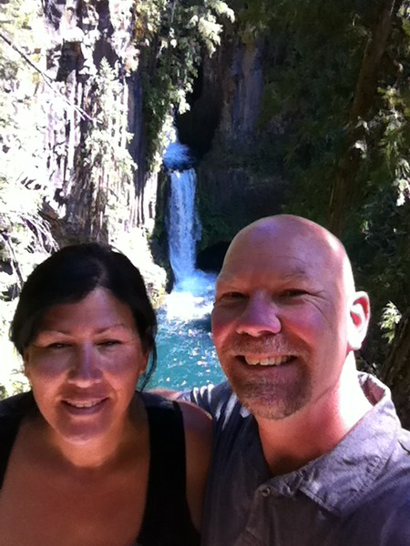 Selfie at Toketee Falls, OR