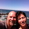 Selfie at Wedding Rock, Patricks Point, CA