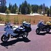Heading north along Rim Drive, Crater Lake OR