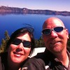 Selfie at Crater Lake, OR