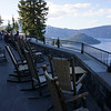 The view from the Crater Lake Lodge