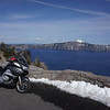 This was my first view of Crater Lake.   Wow!   Jaw dropping.