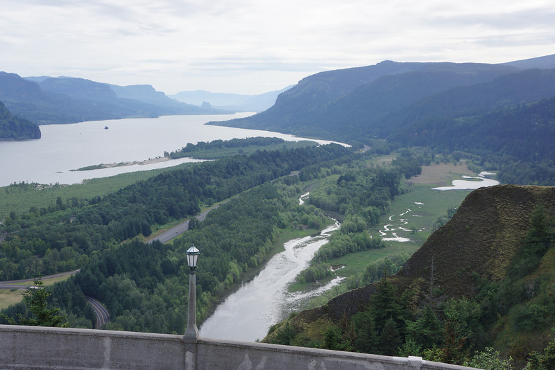 Columbia River Gorge from The Vista House.