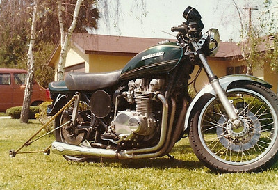 My drag bike in the 70's