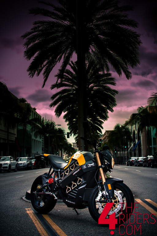 rodeo drive beverly hills brammo empulse r
