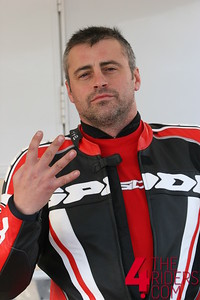 matt leblanc giving me the 4